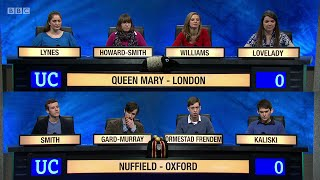 Download University Challenge S45E13 - Queen Mary, University of London, vs Nuffield College, Oxford Video