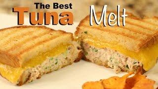 Download The Best Tuna Melt Sandwich Recipe On Sourdough Bread | Rockin Robin Cooks Video