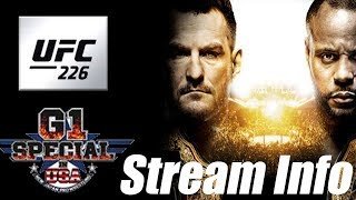 Download IMPORTANT stream news NJPW and UFC 226 Video