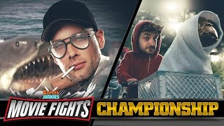 Download MOVIE FIGHTS CHAMPIONSHIP! - E.T. vs Jaws - LIVE! Video