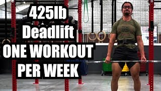 Download I Gained 60lbs on Deadlift in 17 Weeks with only ONE Workout Per Week Video