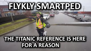 Download FlyKly SmartPed Electric Scooter - Another Kickstarter Failure?? Video