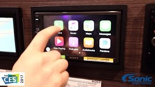 Download Sony XAV-AX100 Double Din Car Stereo w/ Android Auto & Apple CarPlay | CES 2017 Video