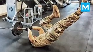 Download Strongest Soldier in the World - Diamond Ott | Muscle Madness Video