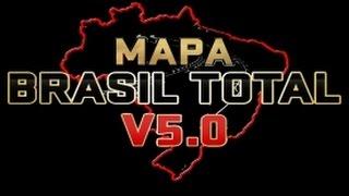 Download DOWNLOAD MAPA BRASIL TOTAL V5 - EURO TRUCK SIMULATOR 2 Video