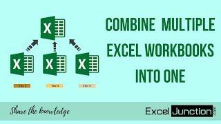 Download COMBINE Multiple Excel WORKBOOKS into One   ExcelJunction Video