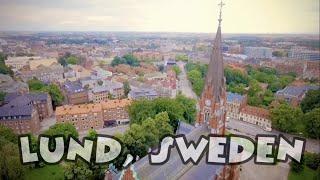 Download Drone footage | Lund, Sweden Video