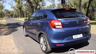 Download 2016 Suzuki Baleno GXL Turbo (1.0L 3CYL) 0-100km/h & engine sound Video
