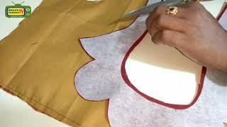 Download How to make Designer Blouse at Home-91 Designer Bridal Back Neck Blouse Pattern - 2018 stitching Video