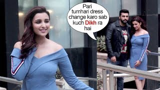 Download Arjun Kapoor SAVES Parineeti Chopra From EMBARRASSING Moment At Namaste England Promotions Video