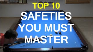 Download Top 10 Safeties Every Pool Player Must Master Video