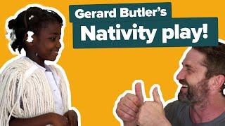 Download Gerard Butler directs school Nativity play! Video