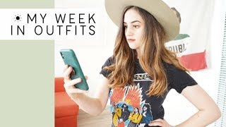 Download I let an app pick my outfits for a week (thrifted minimal closet) | Alli Cherry Video