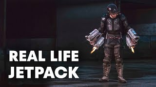 Download The Real Life Iron Man Jetpack that Actually Flies Video
