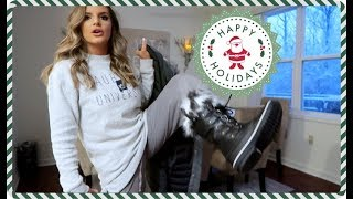 Download THERE'S SO MUCH SNOW! & Christmas House Tour | Casey Holmes Video