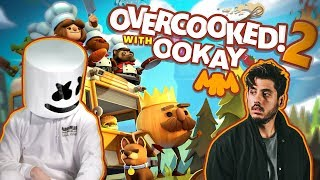 Download Overcooked 2 Sushi Showdown feat. Ookay | Gaming with Marshmello Video