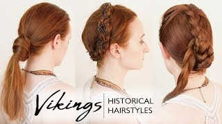 Download Historical Hairstyles: the Real Hairstyles Worn by Viking Women Video