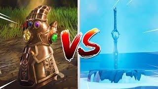 Download INFINITY BLADE VS INFINITY GAUNTLET!! (Who Wins?) Fortnite Battle Royale Video