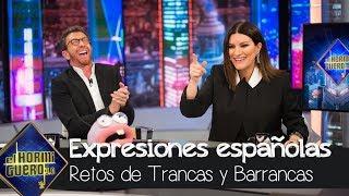 Download Laura Pausini aprende las expresiones españolas más divertidas - El Hormiguero 3.0 Video