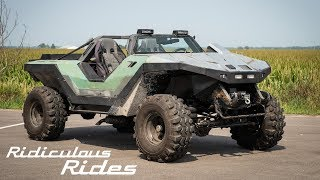 Download Halo Fan Builds A Real Life Warthog | RIDICULOUS RIDES Video