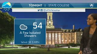Download Friday Afternoon Forecast [10/13/17] Video