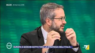 Download Omnibus - Europa e banche sotto tiro, la strategia dell'ITalia (Puntata 20/01/2016) Video