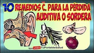Download Como Tratar la Sordera | 10 Remedios Caseros para la Perdida Auditiva o Sordera👂 👂 Video