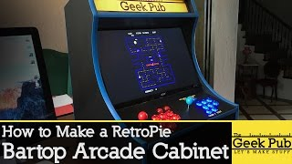 Download Build a RetroPie Bartop Arcade Cabinet with a Raspberry Pi Video