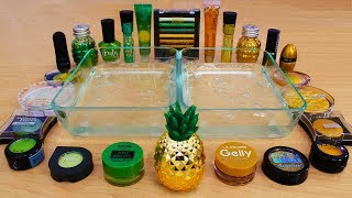 Download Green vs Gold - Mixing Makeup Eyeshadow Into Slime! Special Series 84 Satisfying Slime Video Video