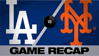 Download Taylor, Gyorko rally Dodgers to 3-2 victory | Dodgers-Mets Game Highlights 9/15/19 Video