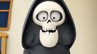 Download Funny Animated Cartoon | Spookiz New Skeleton Teacher in Disguise 스푸키즈 | Cartoon for Children Video