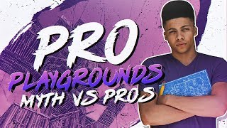 Download Myth vs Fortnite Pros! - Pro Playgrounds (1v1 BUILD BATTLES!) Video