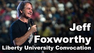 Download Jeff Foxworthy - Liberty University Convocation Video