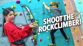 Download Shoot The Rock Climber (Stuck on Top Prank) | Ranz and Niana Video