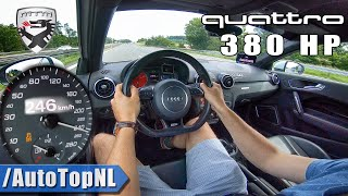 Download AUDI A1 QUATTRO 380HP MTM | AUTOBAHN Test Drive by AutoTopNL Video