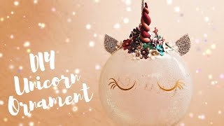 Download How to Make Unicorn Ornaments | Polymer Horn | DIY Cricut Christmas Decorations Video