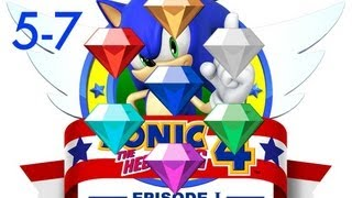 Download Sonic 4: Episode 1 Special Stages/ Chaos Emeralds (5-7) Video