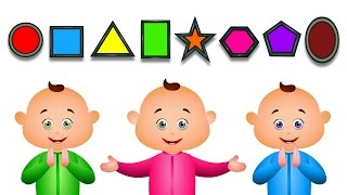Download Learn Shapes For Babies And Many More | JamJammies Fun Songs | Nursery Rhymes Compilation Video