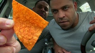 Download EATING THE HOTTEST CHIP IN THE WORLD | PAQUI HAUNTED CHOST PEPPER CHIPS | @HODGETWINS Video