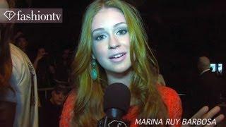 Download Marina Ruy Barbosa & Fiorella Mattheis Front Row at Animale Fall/Winter 2012/13 SPFW | FashionTV Video