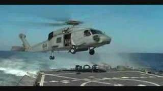 Download Helicopter landing on deck of USS John S. McCain Video
