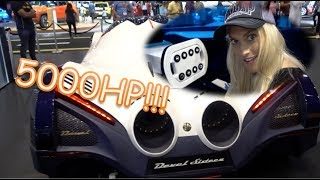 Download THE INCREDIBLE 5000 HORSE POWER CAR!! Video