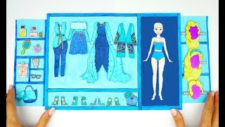 Download PAPER DOLLS PRINCESS WARDROBE DRESSES & ACCESSORIES PAPERCRAFTS FOR GIRLS Video
