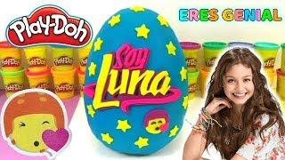 Download Huevo Sorpresa Gigante de Soy Luna de Plastilina Play Doh en Español - Eres genial con Lina y Eva Video