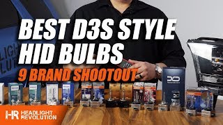 Download The Best D3S HID Bulbs! Shootout and Comparison with 9 Brands | Headlight Revolution Video