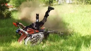 Download Try NOT to Laugh at These DIRTBIKE Crashes! Video