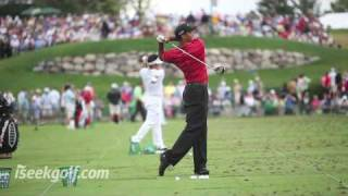 Download Tiger Woods Golf Swing (Side and Back) @ 2009 US PGA Video