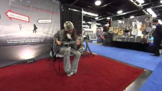 Download Rama Satria Claproth Professional Artist Endorser playing the SlideWinder Ring @ NAMM2015 Video