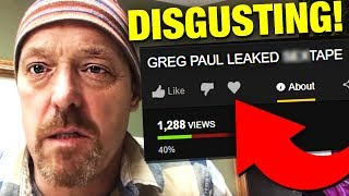 Download Greg Pauls Disgusting Tape EXPOSED By Hackers *FOOTAGE* Video