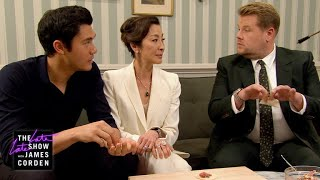 Download James Can't Impress Henry Golding's Crazy Rich Mom w/ Michelle Yeoh Video